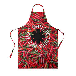 Фартук кулинарный Red Hot Chili Peppers цвета 3D — фото 1