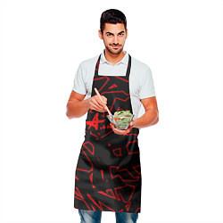 Фартук кулинарный Алиса цвета 3D — фото 2