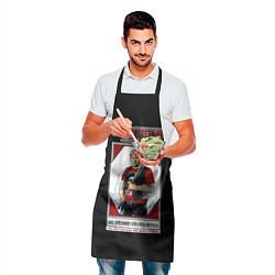 Фартук кулинарный Серега Есенин цвета 3D — фото 2