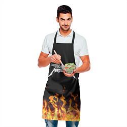 Фартук кулинарный Metallica цвета 3D — фото 2