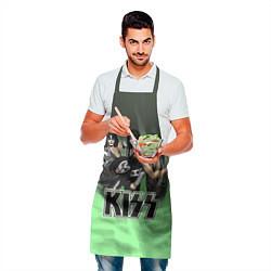 Фартук кулинарный Kiss цвета 3D — фото 2