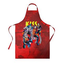 Фартук кулинарный KISS: Hot Blood цвета 3D-принт — фото 1