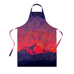 Фартук кулинарный Абстракция цвета 3D — фото 1