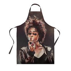 Фартук кулинарный Марла с сигаретой цвета 3D — фото 1