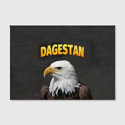 Холст прямоугольный Dagestan Eagle цвета 3D-принт — фото 2