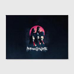 Холст прямоугольный Motionless in white: Avatar цвета 3D-принт — фото 2