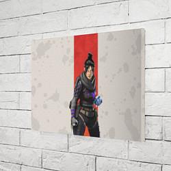 Холст прямоугольный Apex Legends: Wraith цвета 3D — фото 2