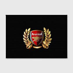 Холст прямоугольный Arsenal цвета 3D-принт — фото 2