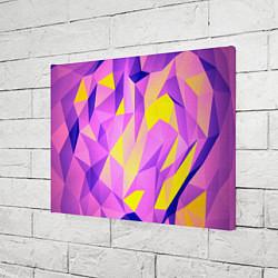 Холст прямоугольный Texture цвета 3D — фото 2
