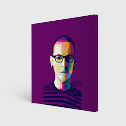 Холст квадратный Честер Беннингтон цвета 3D-принт — фото 1