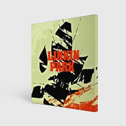 Холст квадратный Linkin Park цвета 3D — фото 1