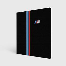 Холст квадратный BMW M: Black Collection цвета 3D — фото 1