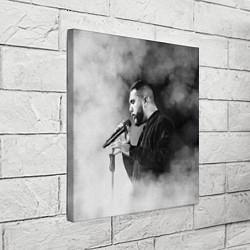 Холст квадратный Jah Khalib: Black mist цвета 3D-принт — фото 2