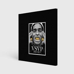Холст квадратный ASAP Rocky: Gold Edition цвета 3D — фото 1