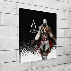 Холст квадратный Assassin's Creed 04 цвета 3D-принт — фото 2