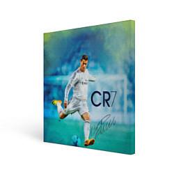 Холст квадратный CR Ronaldo цвета 3D-принт — фото 1