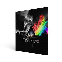 Холст квадратный Pink Floyd цвета 3D — фото 1