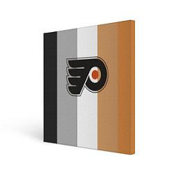 Холст квадратный Philadelphia Flyers цвета 3D-принт — фото 1
