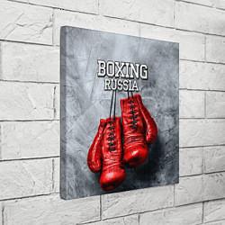 Холст квадратный Boxing Russia цвета 3D-принт — фото 2