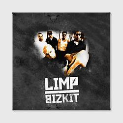 Холст квадратный Limp Bizkit: Rock in to you цвета 3D-принт — фото 2