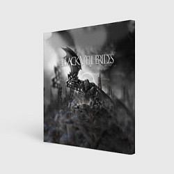 Холст квадратный Black Veil Brides: Faithless цвета 3D-принт — фото 1