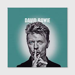 Холст квадратный Дэвид Боуи: тишина цвета 3D — фото 2