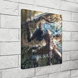 Холст квадратный Dark Souls цвета 3D — фото 2