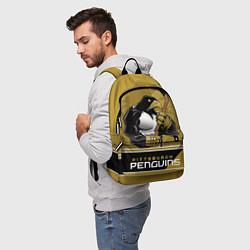 Рюкзак Pittsburgh Penguins цвета 3D-принт — фото 2