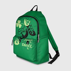Рюкзак Ireland, Irish dance цвета 3D-принт — фото 1