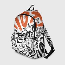 Рюкзак Paramore: Riot цвета 3D-принт — фото 1
