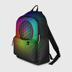 Рюкзак Coldplay Colour цвета 3D-принт — фото 1