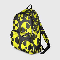 Рюкзак Радиация цвета 3D-принт — фото 1