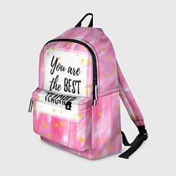 Рюкзак Лучший учитель цвета 3D — фото 1