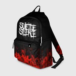 Рюкзак Suicide Silence: Red Flame цвета 3D — фото 1