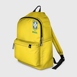 Рюкзак Сборная Бразилии цвета 3D-принт — фото 1