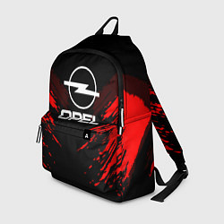 Рюкзак Opel: Red Anger цвета 3D-принт — фото 1