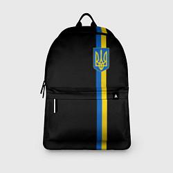 Городской рюкзак с принтом Украина, цвет: 3D, артикул: 10148452305601 — фото 2
