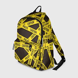 Рюкзак Police Caution цвета 3D-принт — фото 1