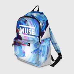 Рюкзак MUSE: Blue Colours цвета 3D — фото 1