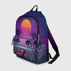 Рюкзак The 80s Beach цвета 3D-принт — фото 1