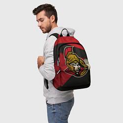 Рюкзак HC Ottawa Senators: Old Style цвета 3D-принт — фото 2