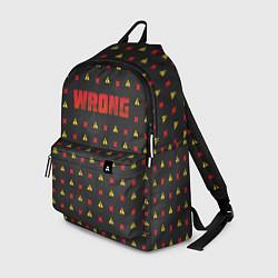 Рюкзак Wrong OBLADAET цвета 3D — фото 1