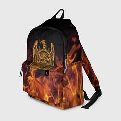 Рюкзак Slayer: Fire Eagle цвета 3D-принт — фото 1