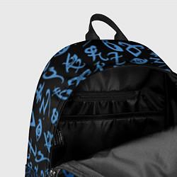 Рюкзак Blue Runes цвета 3D — фото 2