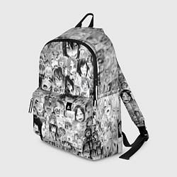 Рюкзак AHEGAO цвета 3D-принт — фото 1