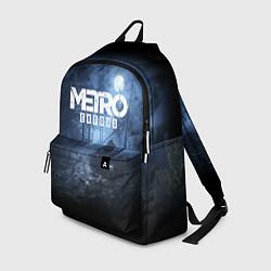Рюкзак Metro Exodus: Dark Moon цвета 3D-принт — фото 1