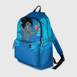 Рюкзак Smells Like: Dragon Ball Z цвета 3D-принт — фото 1