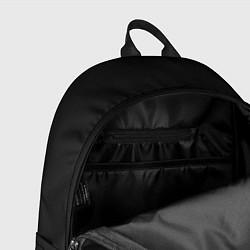 Рюкзак Death Stranding: Black & White цвета 3D-принт — фото 2