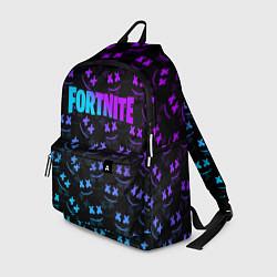 Рюкзак FORTNITE x MARSHMELLO цвета 3D-принт — фото 1