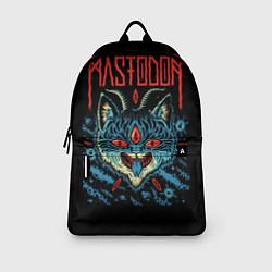 Рюкзак Mastodon: Demonic Cat цвета 3D — фото 2